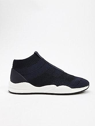 21 Men Men Cortica Knit Sneakers at Forever 21 Navy