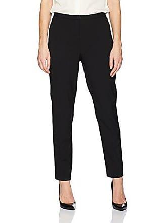 Ellen Tracy Womens Slim Ankle Zip Pocket Pant, el/Black, 8