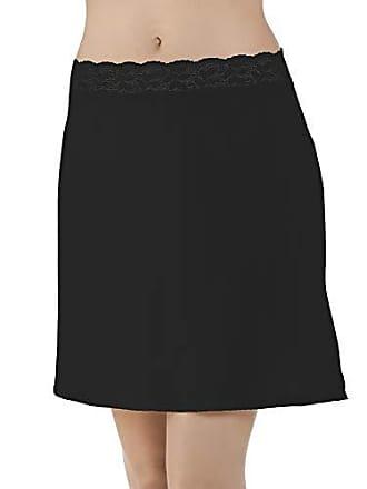 Vanity Fair Womens Plus Size Body Foundation Half Slip 11072, Midnight Black, Small (24 Length)