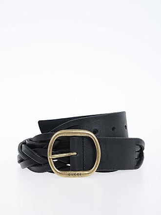 9defd0038c2a5 Gucci 40 mm Braided Leather Belt Größe 100