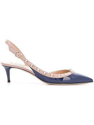 e5c86738462 Valentino Valentino Garavani Rockstud sling-back pumps - Blue