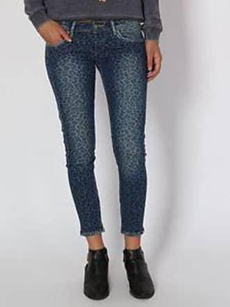 Pepe Jeans London Jeans con Motivo Animal Print<br>Slim Fit<br>Azul