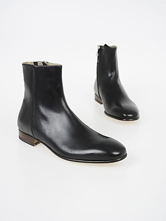 Alexander McQueen Leather Ankle Boots size 40,5
