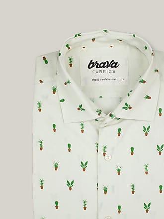 Brava Fabrics Apartment Plants Printed Short Sleeve Shirt