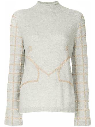 Onefifteen Suéter com bordado - Cinza