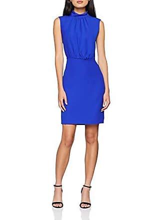 c5aa42e3d86 Morgan 182-RBLUE.P Robe Femme Bleu (Bleu Ultra Bleu 314) 36