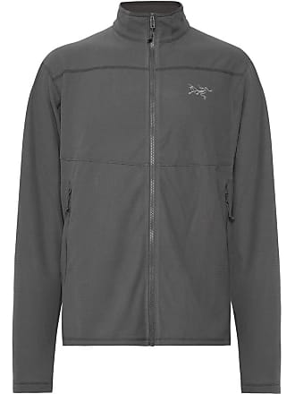 Arcteryx Veilance Delta Lt Slim-fit Polartec Fleece Mid-layer - Anthracite