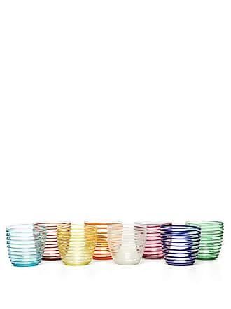 Yali Glass Set Of Eight Goto Tumblers - Multi