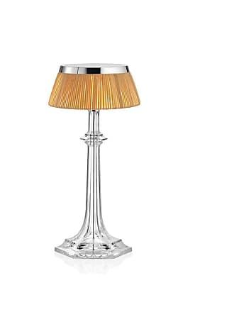FLOS Bon Jour Versailles Small Lampada da Tavolo-Cromo Corona Rattan