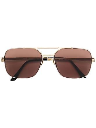 Emmanuelle Khanh M2500O-916 aviator sunglasses - Dourado