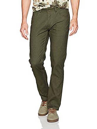 Brixton Mens Reserve 5-Pocket Pant, Olive Heather 28