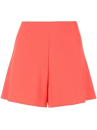 Alice & Olivia high-waisted shorts - Red