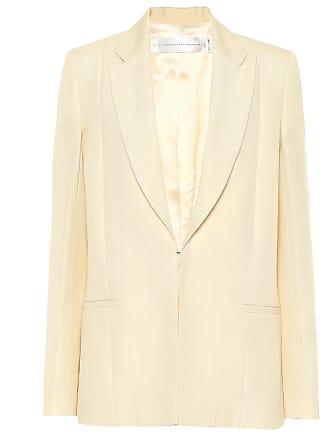 Victoria Beckham Slim linen-blend blazer