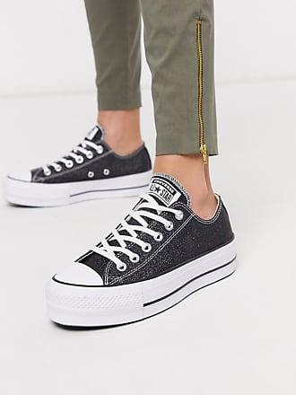Converse Chuck Taylor Lift - Glitzernde Sneaker mit Plateausohle-Mehrfarbig