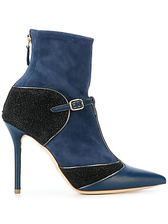 Malone Souliers Bota de couro Sadie - Azul