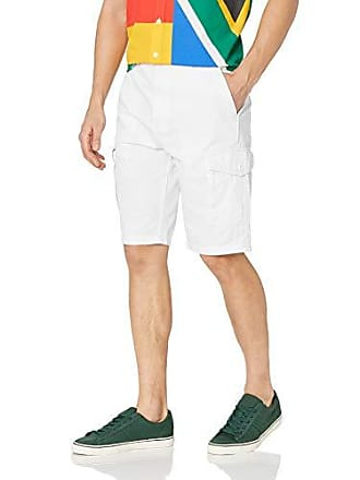 5d74dd4217 LRG Mens Lifted Research Group Shorts, White, 38