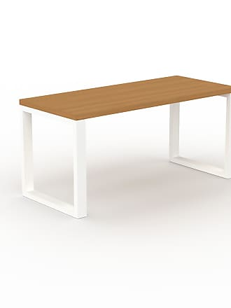 MYCS Table - Chêne, design, plateau de table raffiné - 160 x 75 x 70 cm, personnalisable