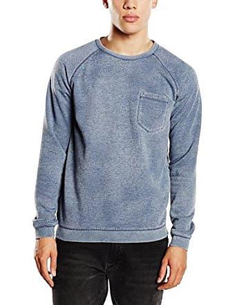 Tom Tailor Herren Sweatshirt burn - out crewneck w.pocket 509 8ae07bdf7c