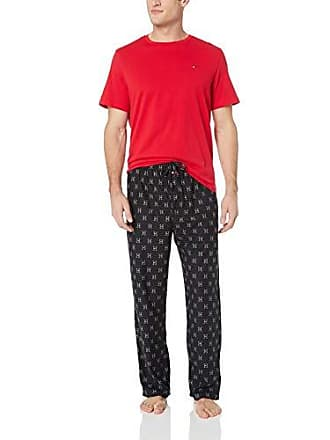 f9efe95eac6 Tommy Hilfiger Mens Cozy Fleece Pajama Set