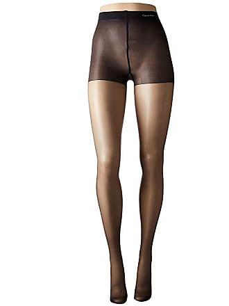 5f433312c7a34 Calvin Klein Matte Ultra Sheer w/ Control Top (Almost Black) Control Top  Hose