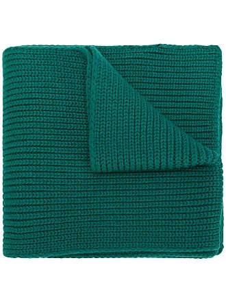 Moncler Cachecol de tricô canelado - Verde