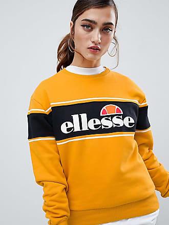 Ellesse Ellesse - Legeres Sweatshirt mit Farbblockstreifen und Logo vorne -  Gelb dcb933e4ee