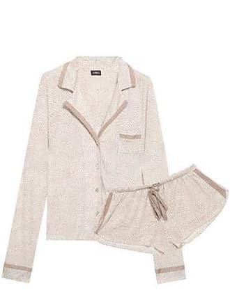 Cosabella Cosabella Woman Printed Pima Cotton And Modal-blend Jersey Pajama Set White Size XL