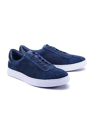 920b795e908e5 Robert Graham Mens Anson Sneaker In Navy Size: 10.5 by Robert Graham