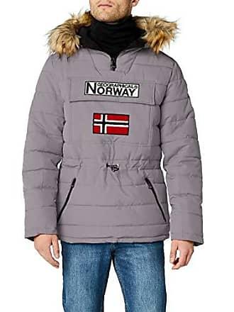 a2a724c3 Geographical Norway Casimire, Parka para Hombre, Gris (Light Grey), X-