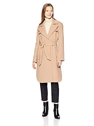 A|X Armani Exchange Womens Mid Length Trench Coat with Waist Tie, Cuba Libre, L