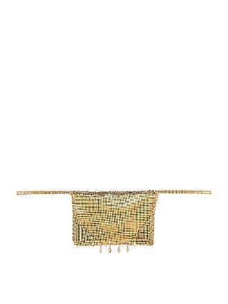 Ettika Shimmer Fanny Pack in Metallic Gold