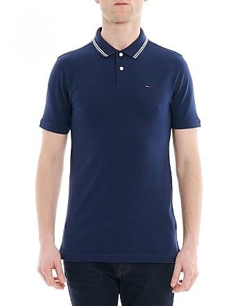 Tommy Hilfiger Polo en coton piqué à liserés contrastants slim fit Ligne  Tommy Jeans Bleu Tommy 813e7d852895