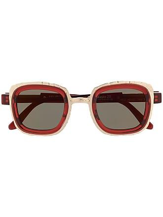 Kuboraum Óculos de sol quadrado - Vermelho