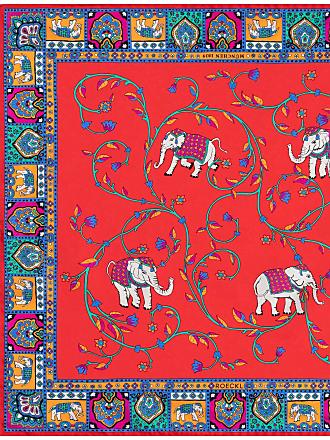 Roeckl Elephant Garden 53x53 - multi red - 53x53