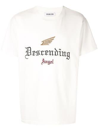 Ground-Zero Camiseta com bordado Descending Angel - Branco