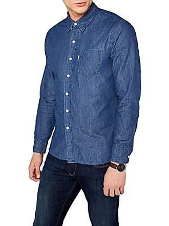 7a95383d232a9 Levi s Sunset 1 Pocket Shirt, Chemise Casual Homme, Bleu (Indigo Wash 0355)