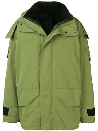 Yves Salomon - Army hooded rain jacket - Green
