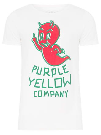 PURPLE YELLOW CAMISETA MASCULINA GASPARZINHO - OFF WHITE