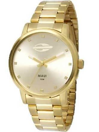 Mormaii Relógio Feminino Mormaii Analógico Maui Dourado, Mo2035Gn/4K