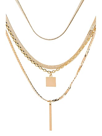 8 Other Reasons Seoul Lariat in Metallic Gold