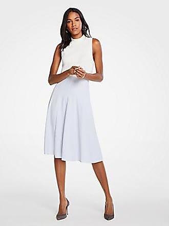 ANN TAYLOR Petite Seamed Full Skirt
