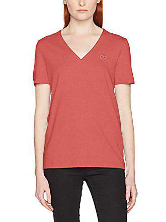 c35394859a Lacoste TF8908, T-Shirt Femme, Rose (Sierra), (Taille Fabricant