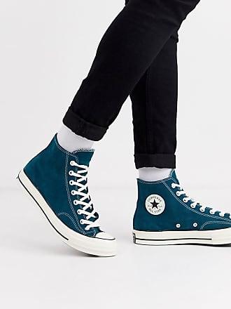 Converse Chuck 70 - Sneaker aus blauem Wildleder