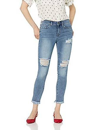 William Rast Womens Perfect Skinny Ankle Jean, House of Blues/Fray Destruction 24