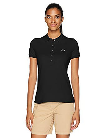 98e212f5f Lacoste Womens Slim Fit Stretch Mini Cotton Pique Polo