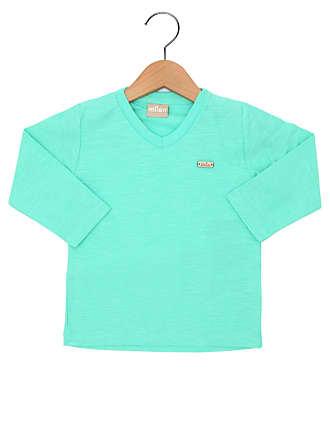 d494e39f58 Milon Camiseta Milon Manga Longa Menino Verde