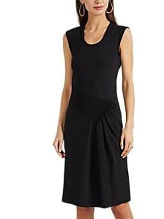 9e34f704ba4 Helmut Lang Womens Pleated Cotton Jersey Tank Dress - Black Size L