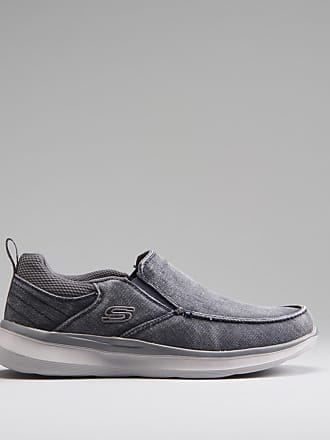 Skechers Zapato slip on denim SKECHERS - Talla 42 - Azul