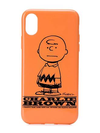 Marc Jacobs Charlie Brown iPhone X cover - Laranja