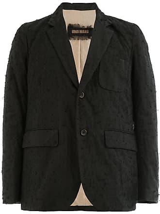 Uma Wang classic single-breasted blazer - Black
